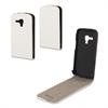 Funda Slim Blanca Samsung Galaxy Trend S7560 + Protector Pantalla Muvit
