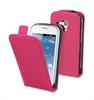 Funda Slim Rosa+Protector Pantalla Samsung Galaxy Trend S7560 Muvit