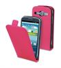 Funda Slim Rosa+Protector Pantalla Samsung Galaxy Core i8260 Muvit