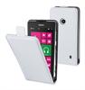 Funda Slim Blanca + Protector Pantalla Nokia Lumia 525 Muvit