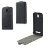 Funda Slim Negra + Protector Pantalla HTC Desire 500 Muvit