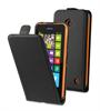 Funda Slim Negra + Protector Pantalla Nokia Lumia 630 Muvit