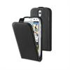 Funda Slim Negra + Protector Pantalla Huawei G610 Muvit