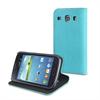 Funda Slim Folio Función Soporte Azul/Negra Samsung Galaxy Core I8260 Muvit