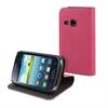 Funda Slim Folio Función Soporte Rosa/Negra Samsung Galaxy Young S6310  Muvit