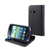Funda Slim Folio Función Soporte Negra Samsung  Galaxy Young S6310  Muvit