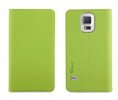 Funda Slim Folio Función Soporte Verde/Gris Samsung Galaxy S5 Muvit
