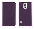 Funda Slim Folio Función Soporte Lila/Naranja Samsung Galaxy S5 Muvit
