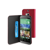 Funda Slim Folio Negra Función Soporte y Tarjetero HTC One M8 Muvit