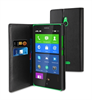 Funda Slim Folio Negra Función Soporte y Tarjetero Nokia XL Muvit