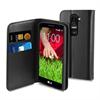 Funda Slim Folio Negra Función Soporte y Tarjetero LG G2 Mini Muvit