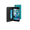 Funda Slim Folio Función Soporte Turquesa/Negra iPhone 6 Muvit