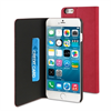Funda Slim Folio Función Soporte Rosa/Negra iPhone 5.5 Muvit