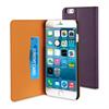 Funda Slim Folio Función Soporte Lila/Negra iPhone 6 5.5 Muvit
