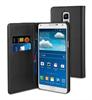 Funda Wallet Folio Función Soporte Negra Samsung Galaxy Note 4 Muvit