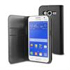 Funda Slim Folio Función Soporte Negra Samsung Galaxy Core 2 Muvit