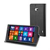 Funda Wallet Folio Negra Función Soporte y Tarjetero Nokia Lumia 930 Muvit