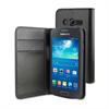 Funda Wallet Folio Función Soporte Negra Samsung Galaxy Ace 4 Muvit