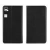Muvit Funda Wallet Folio Función Soporte Negra BQ Aquaris E6 muvit