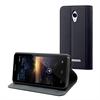 Muvit Funda Wallet Folio Función Soporte Negra Vodafone Smart 4 Turbo muvit
