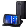 Muvit Funda Wallet Folio con Función Soporte Negra Samsung Galaxy Trend 2 G313HN muvit
