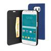 Muvit Funda Wallet Folio Función Soporte Azul Samsung Galaxy S6 muvit