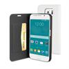 Muvit Funda Wallet Folio Función Soporte Blanca Samsung Galaxy S6 muvit