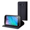 Muvit Funda Wallet Folio Negra Función Soporte Samsung Galaxy J1 muvit
