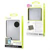 Muvit Funda Wallet Folio Negra Función Soporte Huawei P8 Lite muvit