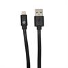 Muvit Cable Largo USB-Lightning MFI Negro 2,70m muvit