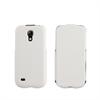 Funda iFlip Blanca + Protector pantalla Samsung Galaxy S4 Mini Muvit