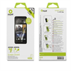 Set de dos protectores de pantalla brillo antihuellas HTC One Muvit