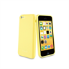 Funda Minigel Amarilla iPhone 5C Muvit
