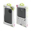 Funda Slim Negra con protector de pantalla Samsung Galaxy S4 Muvit