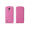 Funda Slim Rosa + Protector Pantalla Samsung Galaxy S4 Mini Muvit