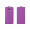 Funda Slim Lila + Protector Pantalla Samsung Galaxy S4 Mini Muvit