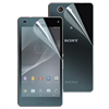 No Existe Set de tres protectores de Pantalla (1 mate + 1 brillo frontal /1 brillo trasero) Sony Xperia Z3 Com