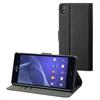 No Existe Funda Wallet Folio negra Sony Xperia Z3 Made for Xperia
