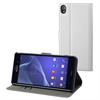 No Existe Funda Wallet Folio blanca Sony Xperia Z3 Made for Xperia