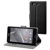 No Existe Funda Wallet Folio negra Sony Xperia Z3 Compact Made for Xperia