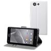 No Existe Funda Wallet Folio blanca Sony Xperia Z3 Compact Made for Xperia