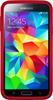 Otterbox Carcasa Trasera de Alta Protección Symmetry Negra y Roja Samsung Galaxy S5