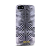 Puro Carcasa Zebra Plata Apple iPhone 5 Just Cavalli