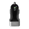 Mini Cargador de Coche negro 2,4 Amp 2 Puertos USB Puro