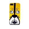 Funda TPU Crazy Zoo Tiger Amarilla/Blanca iPhone 5 Puro