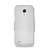 Carcasa Clear Cover Blanca Samsung Galaxy S4 Mini I9190 Puro