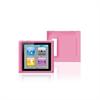 Funda Silicona Apple iPod Nano 6 Rosa Puro