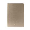 Funda Booklet Slim Oro Apple iPad 6 Cierre Magnético + Función Soporte Puro