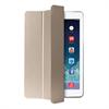 Puro Funda Zeta Slim Oro Apple iPad 6 Carcasa Trasera Transparente + Cierre Magnético + Función Soporte P