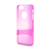Carcasa Cristal Fucsia Apple iPhone 5 Puro